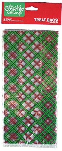 Tartan Gift Bags (Expressive Designs Cookie Exchange Treat Bags (Tartan Plaid))