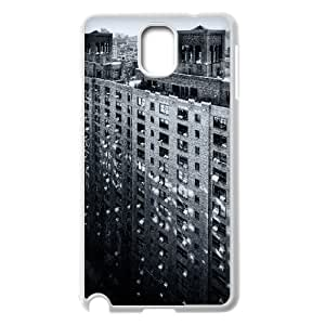 [New York2] Manhattan New York City 2 Case for Samsung Galaxy Note 3, Samsung Galaxy Note 3 Case {White}