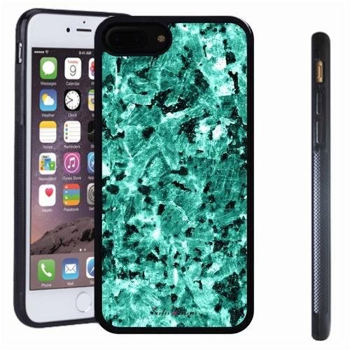 iphone 7 8 Plus case, SoloShow(R) Slim Shockproof TPU Soft Case Rubber Silicone for Apple iphone 7 8 Plus [Mint Green 2] -