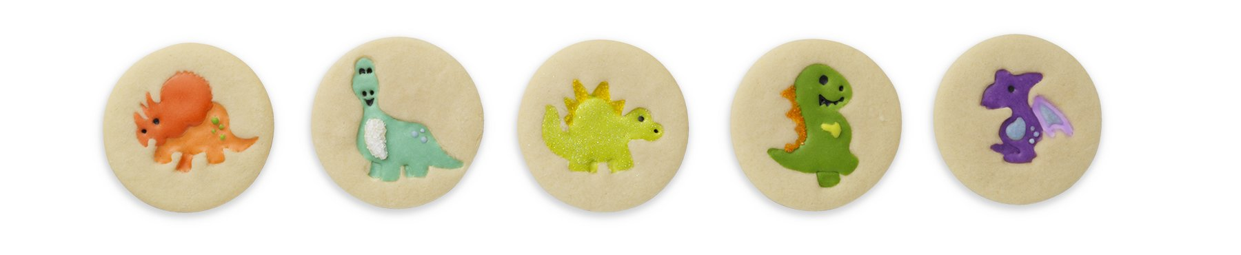 Chef'n Cookie Cutter and Stamp (Dinosaur Shapes) by Chef'n (Image #3)