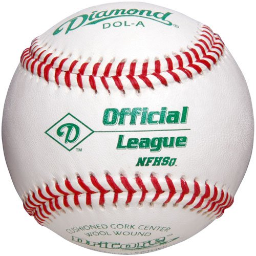 Diamond DOL-A Official League NFHS Baseball (12 pack)