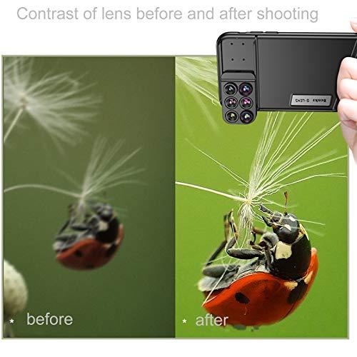 0c9a195704c6 Wewoo Objectif pour iPhone X Fun Photographie série 6 en 1 étui de téléphone  lentilles  Amazon.fr  High-tech