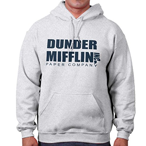Brisco Brands Dunder Mifflin Paper Company Shirt Office Jim Pam Dwight Cool Hoodie Sweatshirt