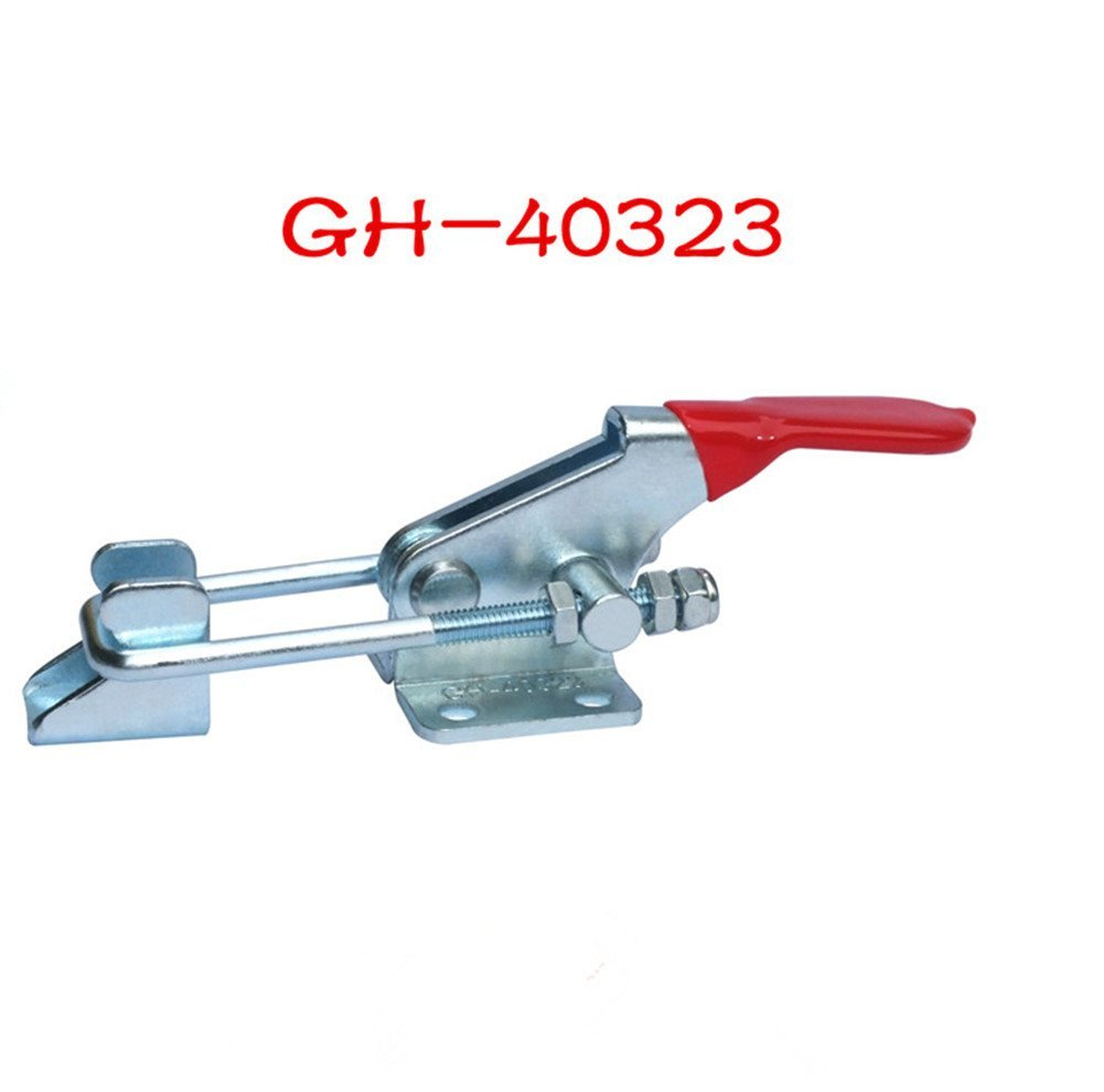 4pc 160Kg//360Lbs Holding Capacity Quick Release Latch Type Toggle Clamp GH-40323
