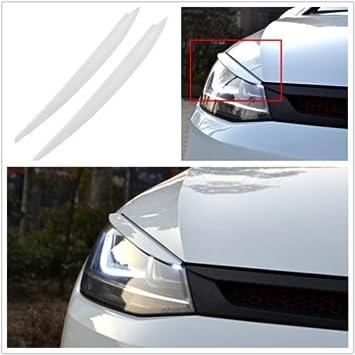 Flash2ning Faros delanteros para VW Golf 7 VII GTI R MK7, color blanco: Amazon.es: Coche y moto