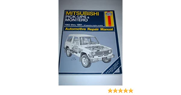 Mitsubishi Pick-ups & Montero 1983 Thru 1991 (Automotive Repair Manual): Larry Warren: 9781563920226: Amazon.com: Books