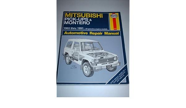 Mitsubishi Pick-ups and Montero Automotive Repair Manual Haynes Automotive Repair Manuals: Amazon.es: Larry Warren, etc.: Libros en idiomas extranjeros