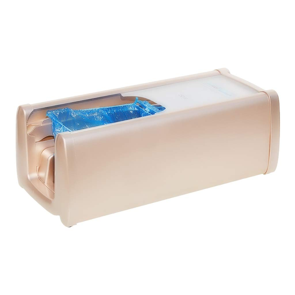 LDY Household Office Fully Automatic Disposable Shoe Film Machine + 100 Plastic Shoe Covers Non-Slip