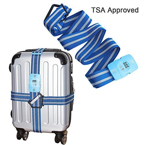 Tsa Locking Luggage Strap - 8