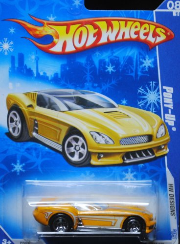 2009 Hot Wheels Exclusive Snowflake Card Pony Up