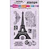 Stampendous Perfectly Clear Stamp Set, Eifel Tower Image
