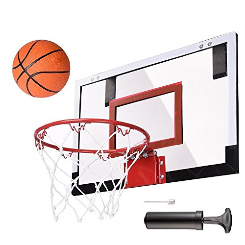 Mini Hoop Basketball Ball Door Indoor Set Wall Spalding Over Wall Game Sports Net Goal (Costume Stores Winnipeg)