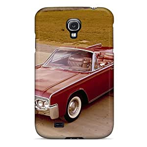 DaMMeke Perfect Tpu Case For Galaxy S4/ Anti-scratch Protector Case (1961 Lincoln Continental)