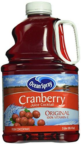 Ocean Spray Juice Cocktail, Cranberry, 101.4 oz