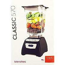 BLENDTEC Classic Blender, Wildside Jar (Black)