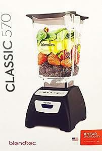 BLENDTEC Classic Blender, Wildside Jar - Black