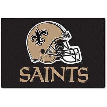 Amazon Com Fanmats 14336 Nfl New Orleans Saints Nylon