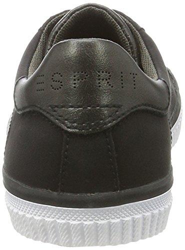Esprit Riata Lace Up, Zapatillas para Mujer Negro (black 001)