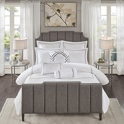 MADISON PARK SIGNATURE Hotel 101 400 Thread Count Comforter Set Bedding, King Size, - Beyond Bedding