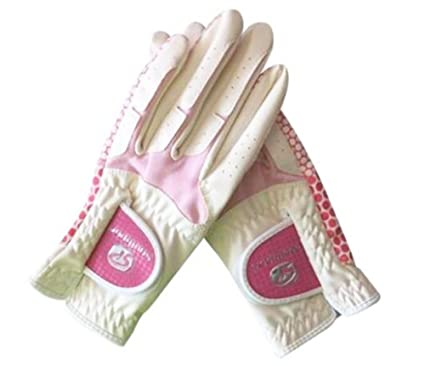Amazon.com: 1 par de guantes de golf femenino antideslizante ...