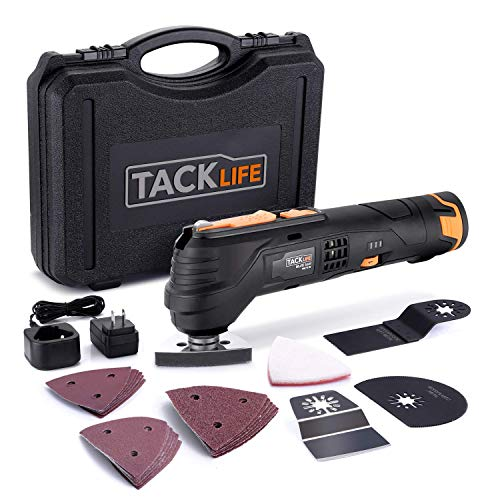 TACKLIFE 12V Cordless Oscillating Tool