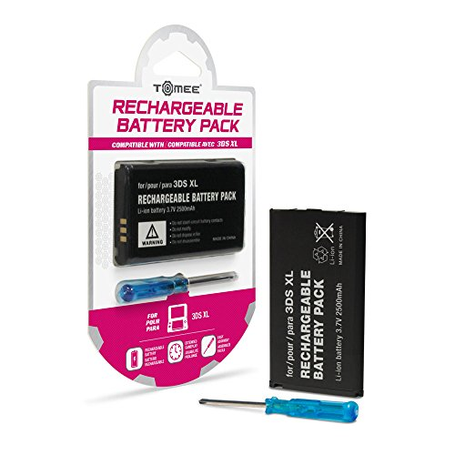 Tomee Rechargeable Battery Pack for New 3DS XL/ 3DS XL