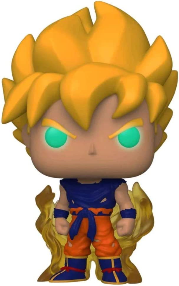 Funko Dragon Ball Z Glow-in-The-Dark Super Saiyan Goku Pop!