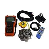 TR-DTI-100H-M1 Portable Ultrasonic Flow Meter for Liquids DN50 ~ DN700mm with M1 Transducer -30C~ 90C Sensor Oil Sewage Digital Transit-Time Flowmeter DTI Meter