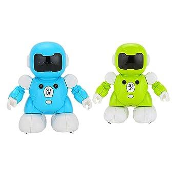 Kasien Remote Control Robot Play Soccer Toy Combat Fun Robotic