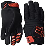 Fox Racing Men's Sidewinder Polar Gloves (Black/Red, XL)