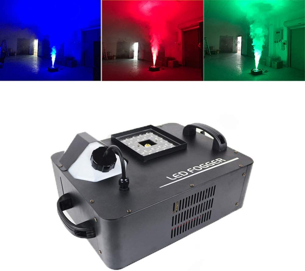 煙機、LEDライトフォグマシン1500Wとのワイヤレスリモートコントロール用のパーティークリスマスハロウィンDJステージの影響