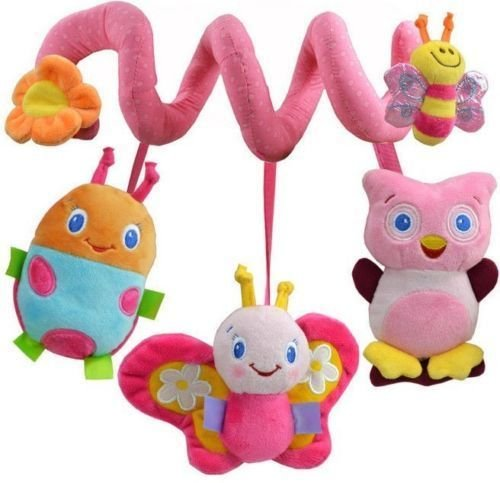 gg Baby Bed Around/baby stroller Hanging Bell/ Rattle Mobile Musical Plush Toy NEW
