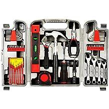 yuanshikj Herramientas de precisión Kit de herramientas caja de herramientas de la Tool Set homeowner General
