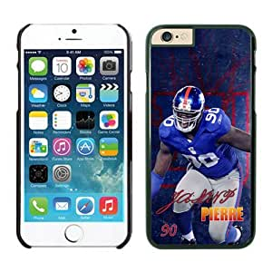 New York Giants Jason Pierre Paul Case For iPhone 6 Plus Black 5.5 inches