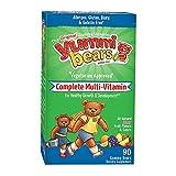 Cheap Yummi Bears Vegetarian Multi-Vitamin & Mineral Gummy Vitamin for Kids, 90 Gummy Bears