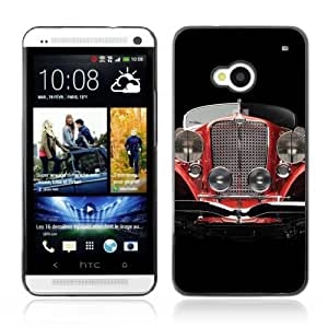 Designer Depo Hard Protection Case for HTC One M7 / Oldschool Classic Car