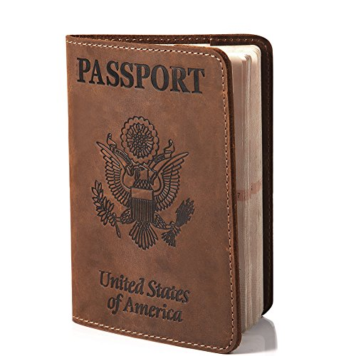 Holder-Mate Passport Case Cover Holder Travel Wallet belt for Men/Women by Holder-Mate