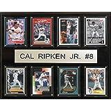 MLB Baltimore Orioles Cal Ripken Jr. Plaque (8-Card), 12 x 15-Inch