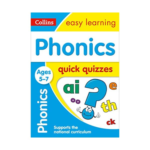 Phonics-Quick-Quizzes-Ages-5-7-Prepare-for-school-with-easy-home-learning-Collins-Easy-Learning-KS1-Paperback--19-Jan-2017