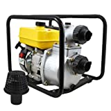 XtremepowerUS 3'' & 2'' 7 HP 4-Stroke 260-Gallon Per Minute Gas-Powered Portable Water Pump