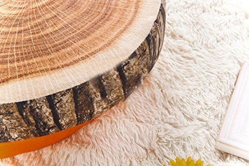 Tree Stump Pillow Plush | Round Wood Slice Pillow 4