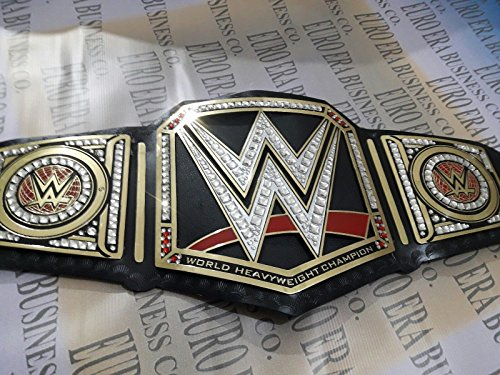 New Replica WWE Championship Belt Gold Metal Plates Adult Size
