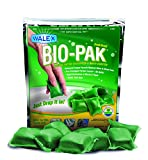 Chemical Toilet Walex BIO-11530 Bio-Pak Natural Holding Tank Deodorizer and Waste Digester, (Pack of 10)