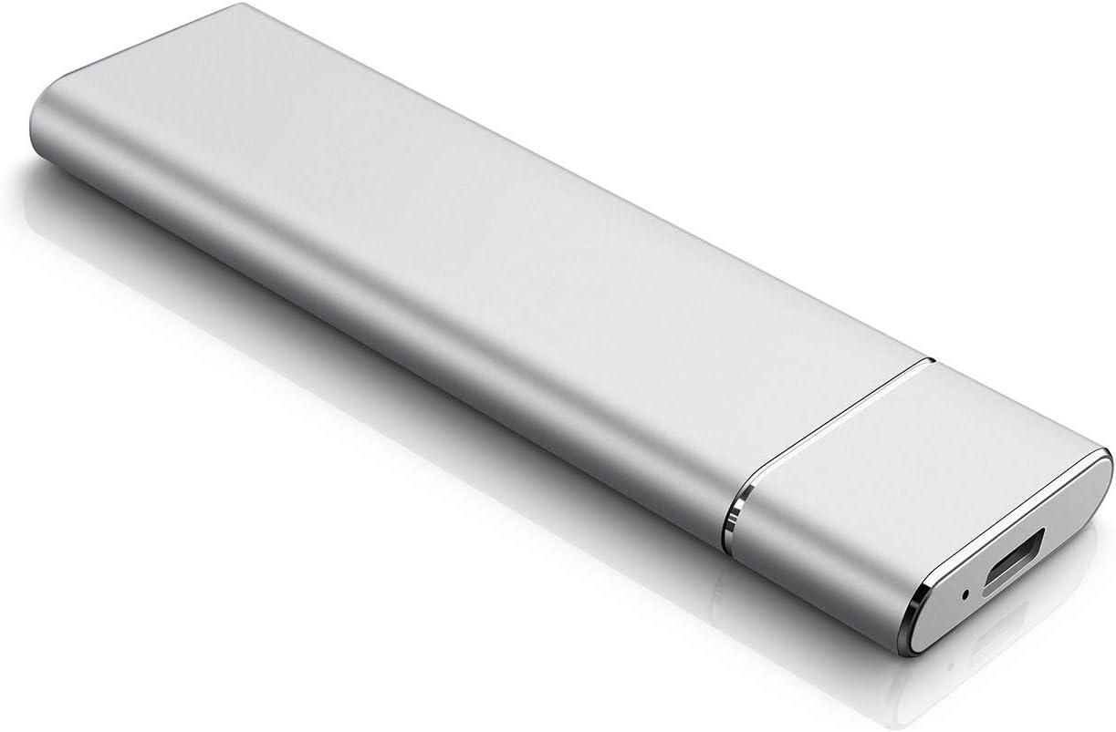 Chromebook Laptop Neeta 1TO Disque Dur Externe Portable Ultra Mince Type C USB 3.1 Disque Dur Externe pour PC MacBook Mac Xbox 360 Xbox One Desktop 1 to, Noir
