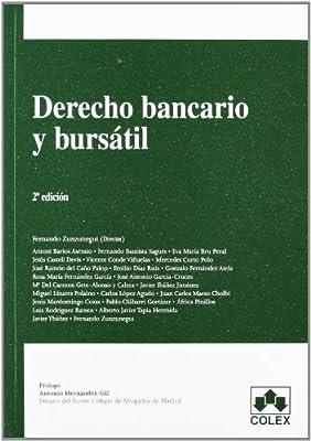 DERECHO BANCARIO Y BURSATIL 2ª ED. MANUALES UNIVERSITARIOS: Amazon ...