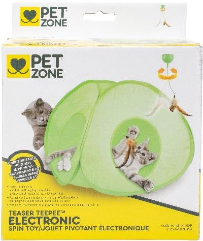 Our Pets 1550013409 Electronic Spin Toy Teaser Teepee by Our Pets
