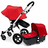 Bugaboo Cameleon 3 Stroller With New Extendable Sun Canopy (Red)