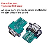 Anmbest 2PCS DB9 Solderless RS232 D-SUB Serial to
