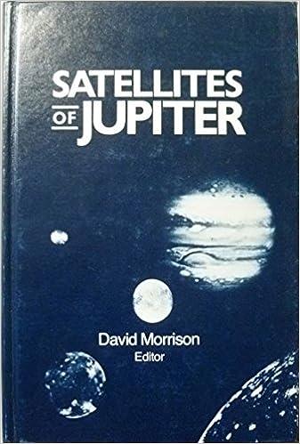 Book Satellites of Jupiter (Space Science Series)