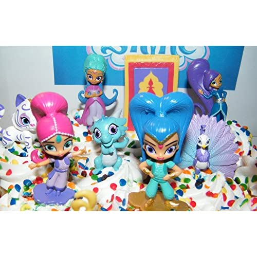 high-quality Nickelodeon Shimmer and Shine Deluxe Mini Cake